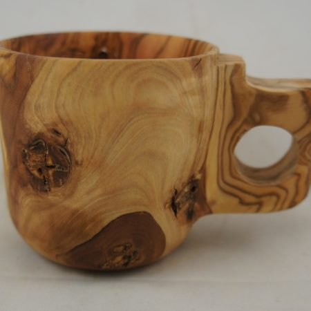 Olive coffee cup