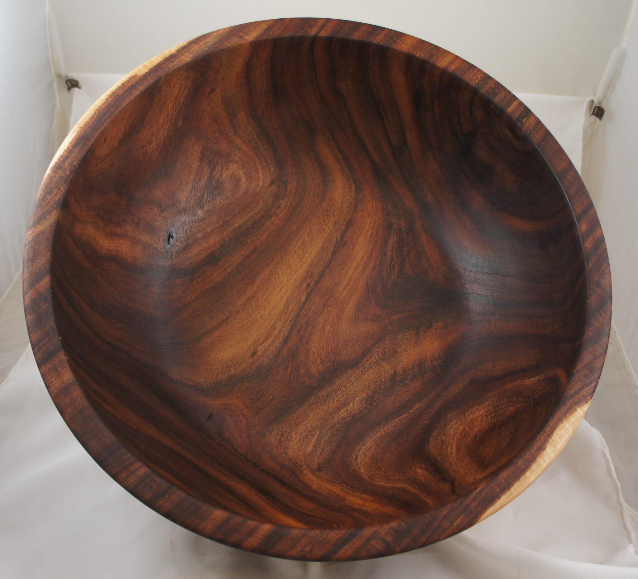 Large Acacia Salad Bowl