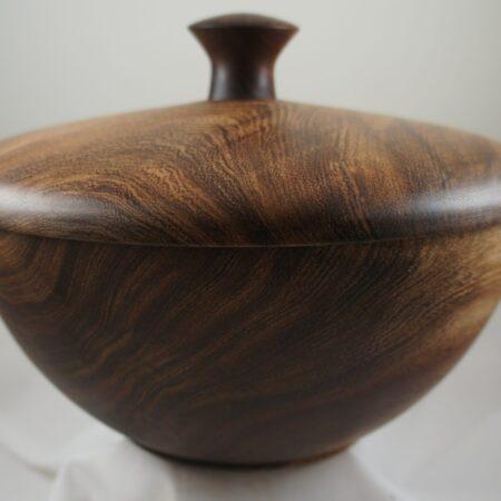 Mesquite Lidded Bowl